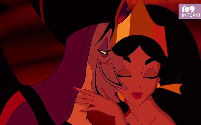 ディズニーの悪役を性交させているエロティカ作家に会いましょう