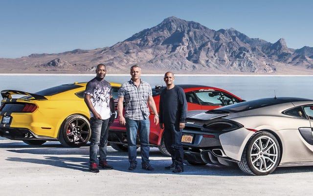 Как Top Gear ударил перезагрузку на одном из крупнейших шоу в мире