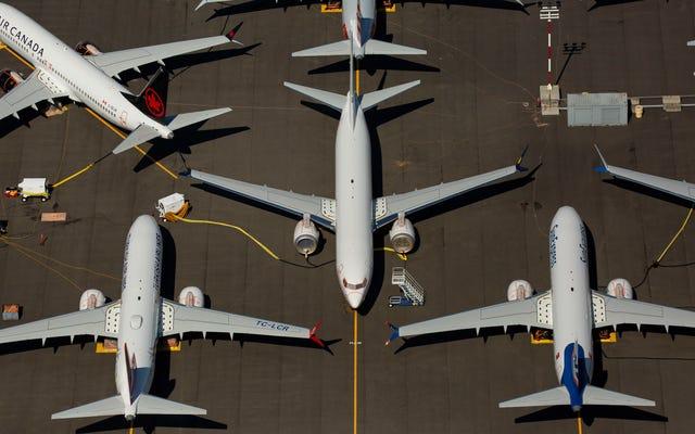 FAAは、ボーイングが差し控えたメッセージで737Maxの「ひどい」問題についてパイロットが不満を述べている