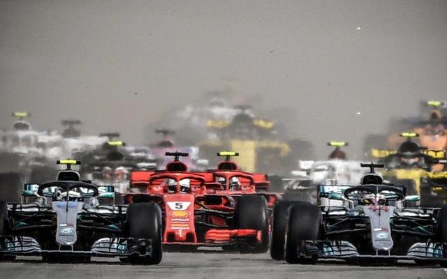 La Formula Uno prevede di diventare neutrale al carbonio
