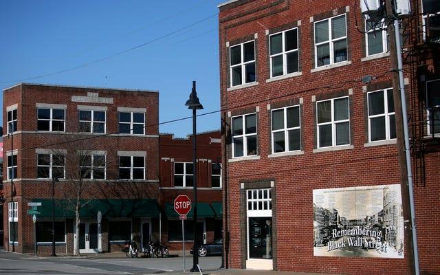 Ricostruire Black Wall Street: Tulsa sostiene la raccolta di fondi per riportare Greenwood alla sua gloria