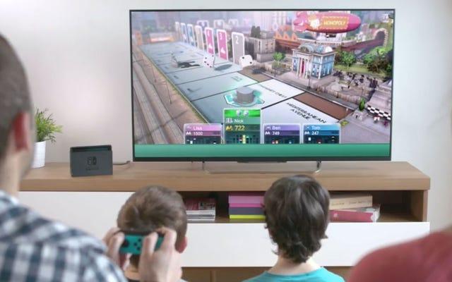 Il monopolio sta arrivando su Nintendo Switch