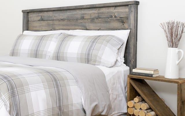 Rendi più difficile che mai lasciare il tuo letto con la flanella organica Boll & Branch