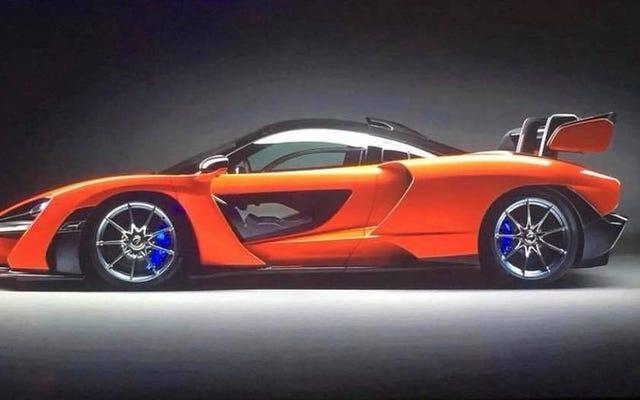 นี่คือมะขามแขกของ McLaren ก่อนที่คุณจะได้เห็น