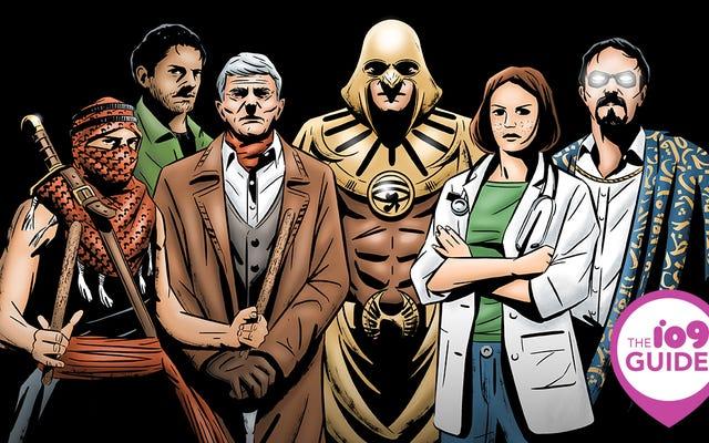 El3osbaのエジプトのスーパーヒーロー宇宙へのio9ガイド