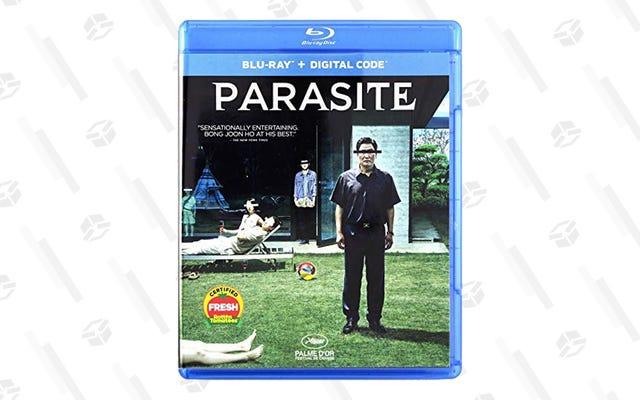 オスカーの最優秀作品賞を受賞した寄生虫は、フルブルーレイグローリーで8ドルで販売されています