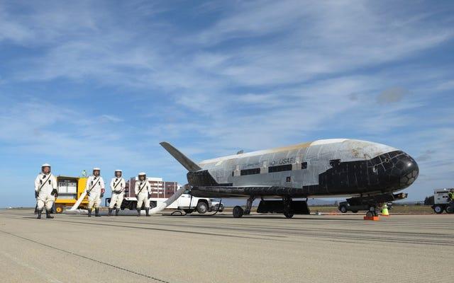 米国で最も謎めいた宇宙船は、宇宙で記録を達成したばかりです。地球を719日間周回しています。