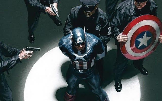 コーツのキャプテンアメリカはあなたに重要な質問をしたい