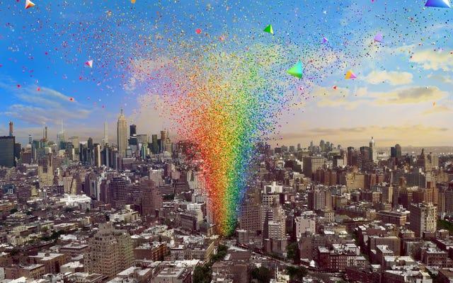 """Nie możesz odwiedzić Stonewall w Nowym Jorku? Nadal możesz się tam dostać, korzystając z pomnika """"Żywej"""" dumy"""
