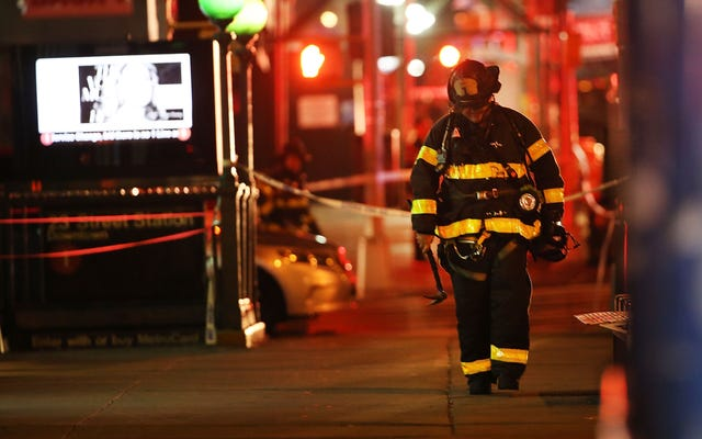 29ニューヨーク中心部の爆弾爆発で負傷