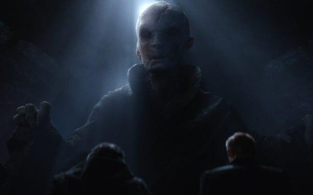 Les 13 théories les plus absurdes sur l'identité du guide suprême Snoke