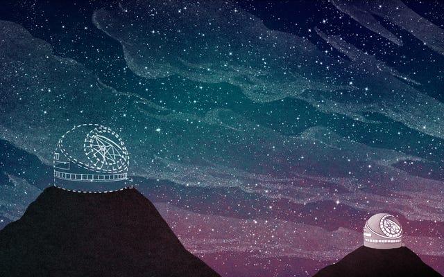 การต่อสู้เหนือยอดเขาอันศักดิ์สิทธิ์จะกำหนดอนาคตของดาราศาสตร์