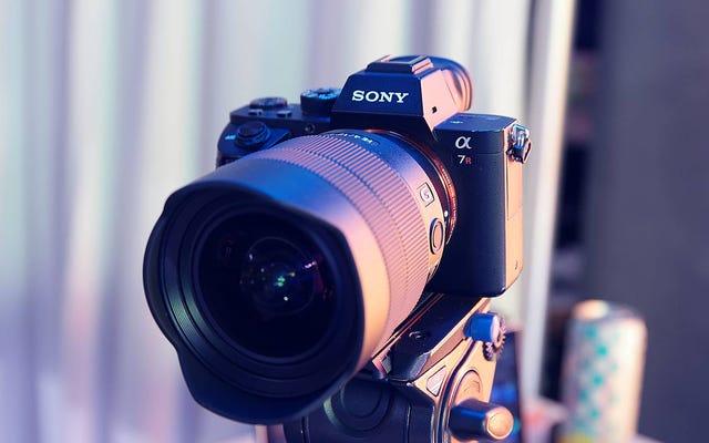 ソニーのカメラを使用して、ビデオ通話でジャガイモのように見えないようになりました