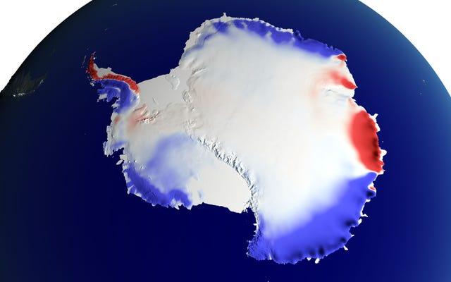 Opady śniegu na Antarktydzie pomagają zrównoważyć wzrost poziomu morza, ale to nas nie uratuje