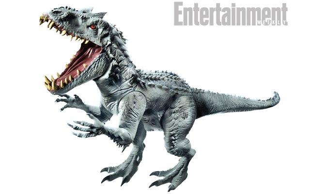 Así es como se ve ese nuevo superdinosaurio de Jurassic World