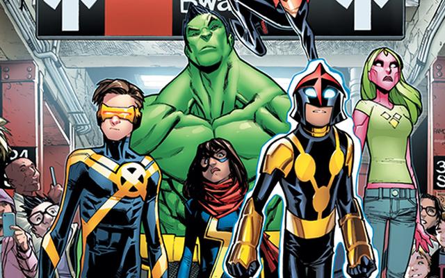 मार्वल के टीन हीरोज अपनी खुद की एक्टिविस्ट सुपर्टेम बना रहे हैं