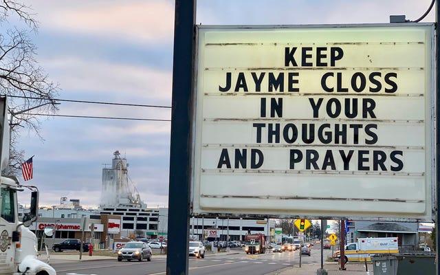 ウィスコンシンの町が10代の少女ジェイミー・クロスの誘拐事件をきっかけに