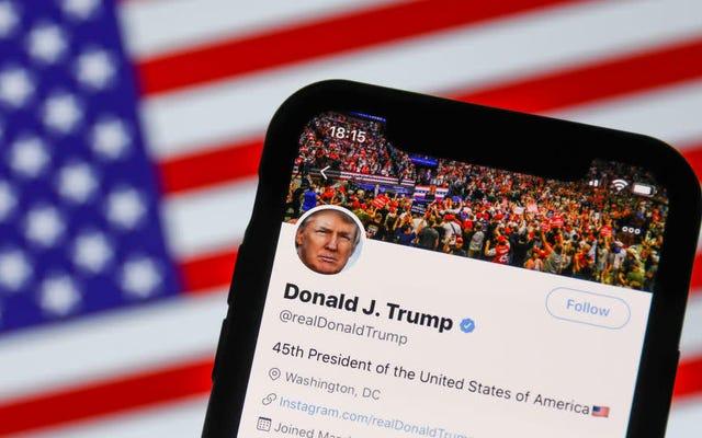 あなたはその「論争の的となる主張」Twitterミームについて私たちの大きな愚かな大統領に感謝することができます