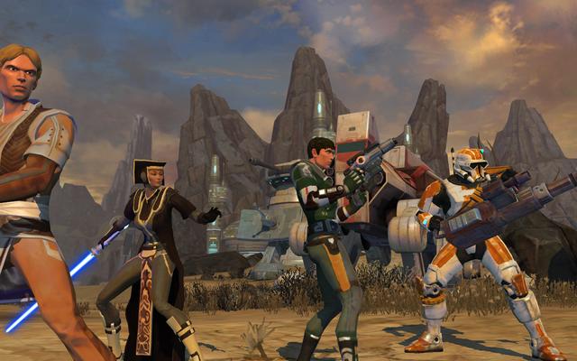 BioWareのスターウォーズゲームは公式のスターウォーズキャノンではありません