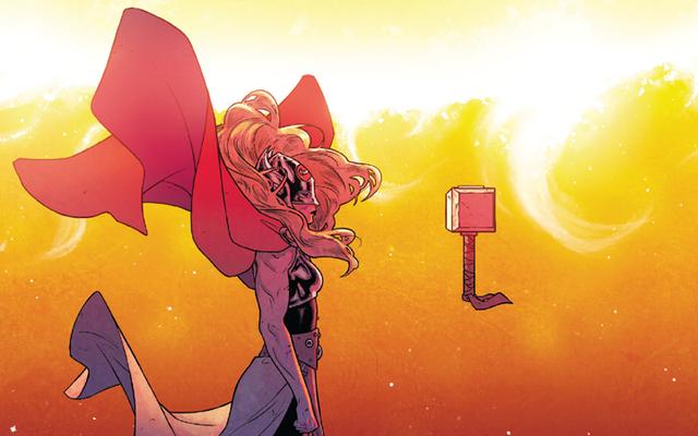ミョルニルの奇妙な「新しい」トールのコミックパワーは実際にはまったく新しいものではありません