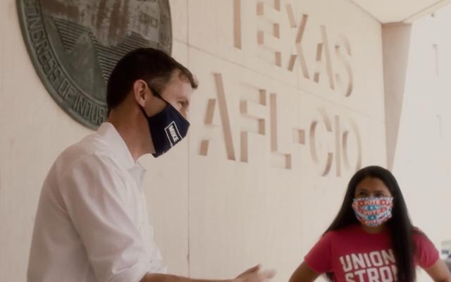Гонка домов в Техасе может привлечь профсоюзы к участию в создании нового экологичного курса