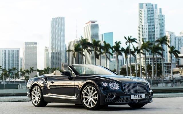 Que voulez-vous savoir sur la Bentley Continental GT V8 Cabriolet?