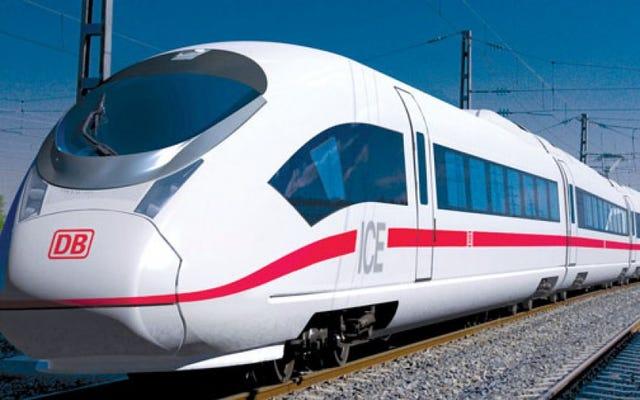 ドイツは自動運転車を鉄道網に追加する