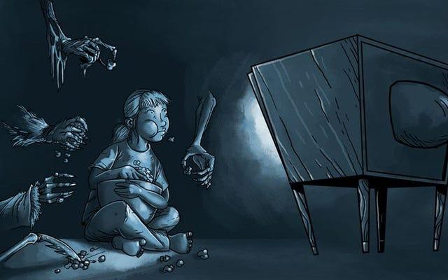 悪夢の燃料:子供向けの娯楽からの21の恐ろしい瞬間