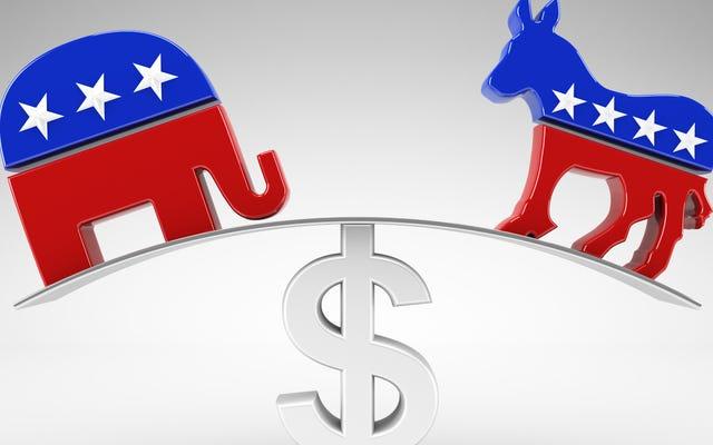 Les républicains contrôlent les États les plus pauvres, les démocrates contrôlent les États aux revenus les plus élevés: rapport