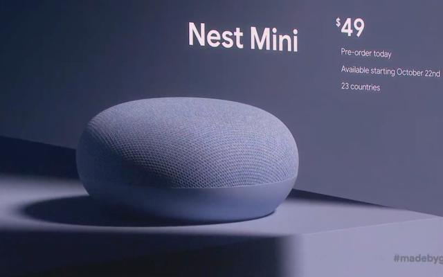 Google Nest Mini теперь может висеть у вас на стене, как произведение искусства, которое вас всегда слушает