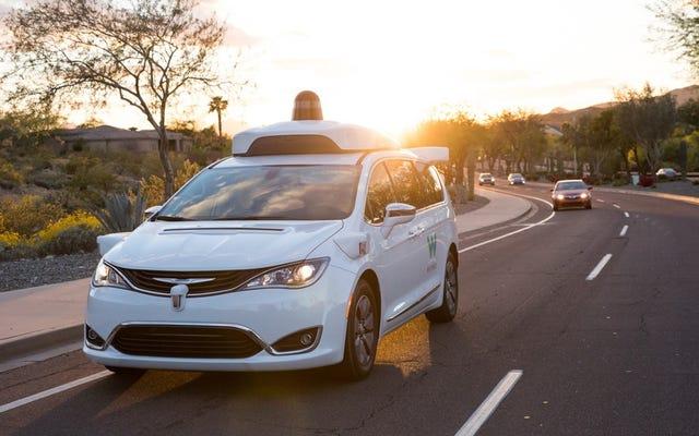 คนดีของฟีนิกซ์กำลังออกไข่ Google Cars ที่ขับเคลื่อนด้วยตัวเอง