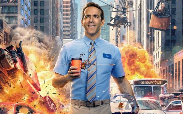 W Free Guy Ryan Reynolds jest NPC żyjącym w grze wideo z otwartym światem podobnej do GTA.
