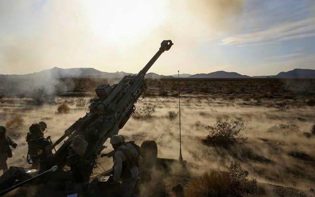 あなたが見ていなかったとき、米海兵隊はシリアに行き、ISISで4,500以上の砲弾を奪いました