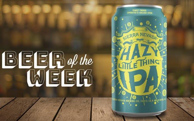 今週のビール:シエラネバダヘイジーリトルシングIPA