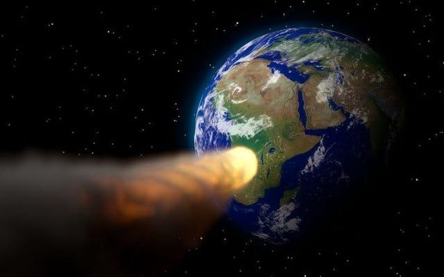 この小惑星はあなたが宝くじに勝つよりも9月に地球にぶつかる可能性が高いです