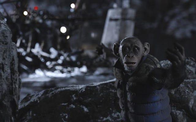 Merde, ce sont de beaux singes dans War For The Planet Of The Apes