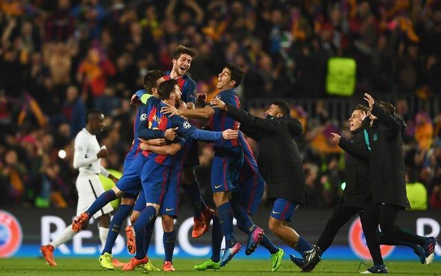 バルセロナは彼らが不可能なことをすることができることを知っていました