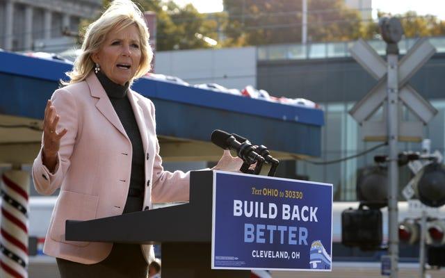 Jill Biden fera pression pour un collège communautaire sans dette en tant que FLOTUS
