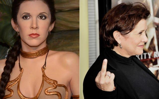Carrie Fisher baise Han Solo, combat la princesse Leia et se retrouve dans The Princess Diarist