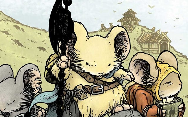 イドリス・エルバがマウスガードに参加するための交渉も