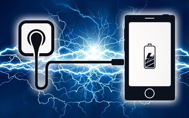 आधे समय में अपने फोन को चार्ज करें: त्वरित चार्जर्स समझाया