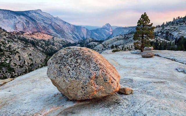 干ばつによりカリフォルニアの山々は1インチ成長しました