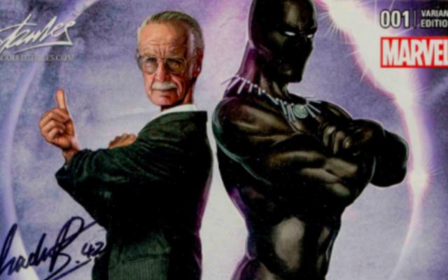 Rare Black Panther Comic # 1 signé par Chadwick Boseman est actuellement mis aux enchères