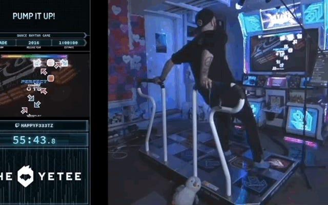 Regarder les jeux terminés par Pump It Up Run de Quick ressemble à une séance d'entraînement