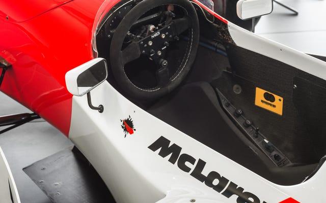 Quand Ayrton Senna avait une blague sur Williams et Sonic The Hedgehog