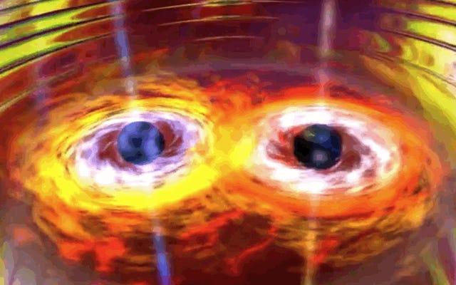 重力波を3回目に検出し、1年前の10倍の精度で検出します。