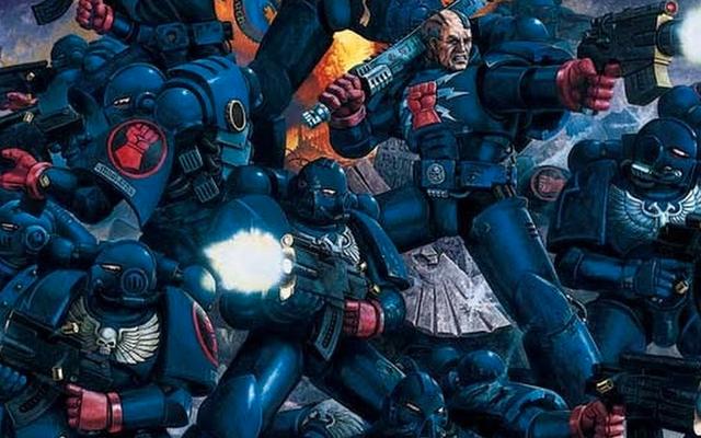 सम्राट की प्रशंसा, Warhammer 40K कॉमिक्स के लिए अग्रणी है