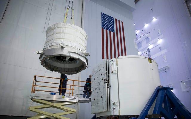 NASAの拡張可能なスペースハブは超クールに見えます
