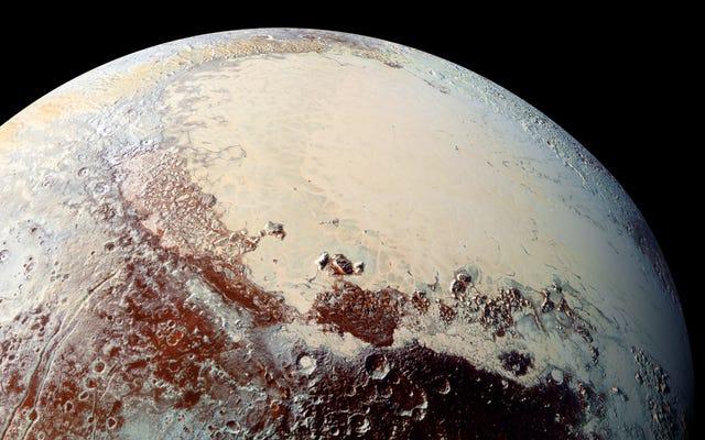 ニューホライズンズのデータを新たに見ると、冥王星の「向こう側」が前例のない詳細で示されています