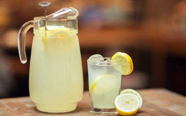Оживите свой лимонад с помощью рассола для суши с имбирем